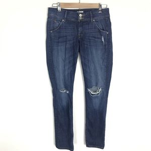 Hudson Collin distressed skinny jeans Size 26